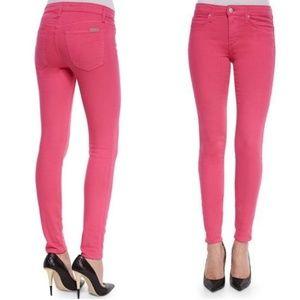 Joe's Pink Skinny Jeans